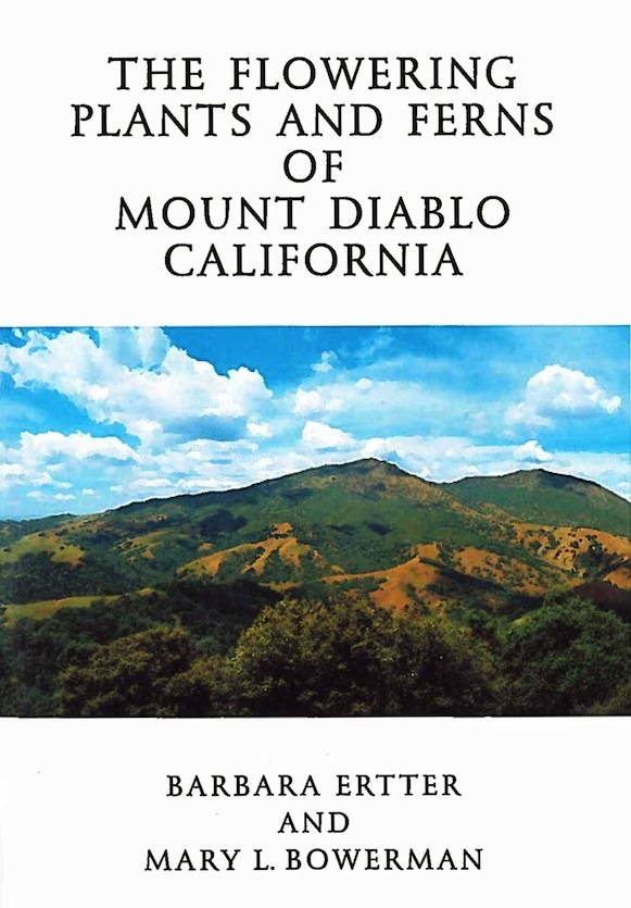 Book cover of The Flowering Plants and Ferns of Mount Diablo, California