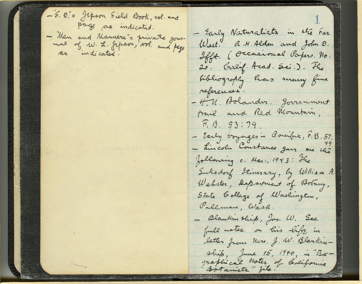 Jepson Field Book 70_1