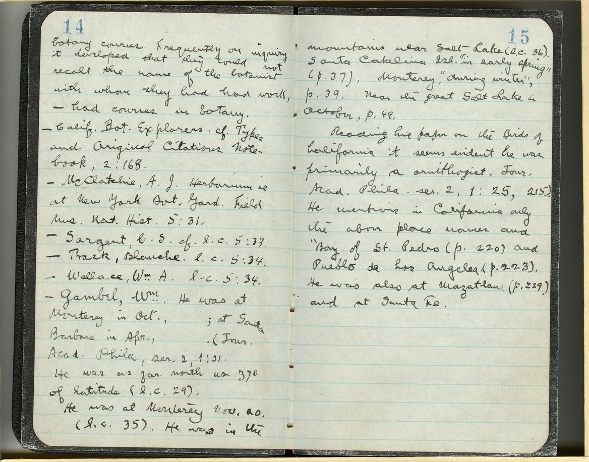 Jepson Field Book 70_15