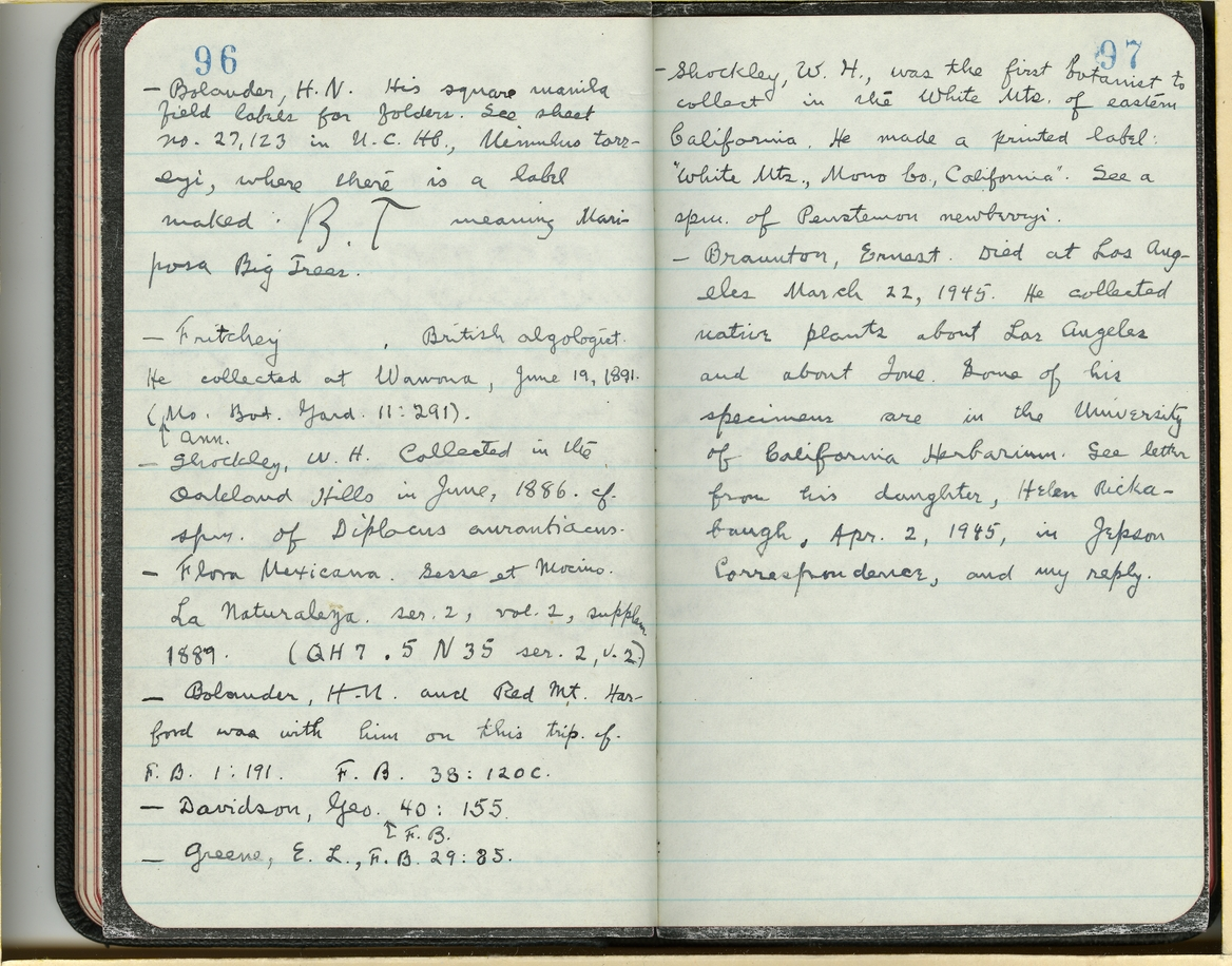 Jepson Field Book 70_97